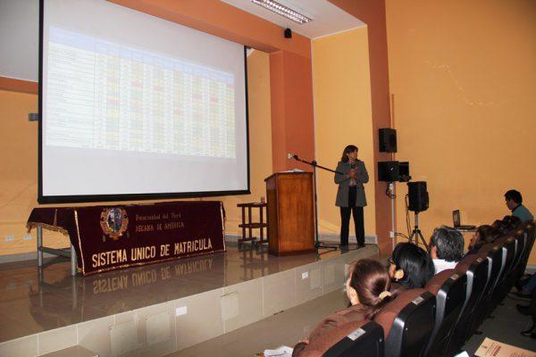 Reunión de coordinación para el proceso de matrícula del periodo Académico 2016 – II